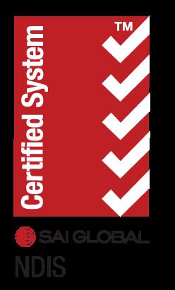 SAI Global NDIS certified System